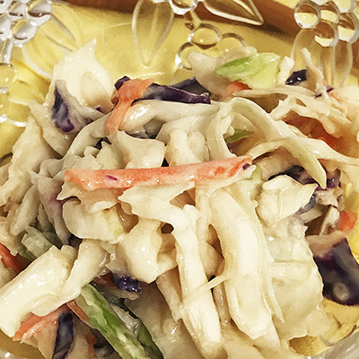 Home Recipe Card: Asian Slaw