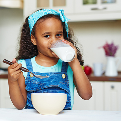 Improve Children's Diets with Milk