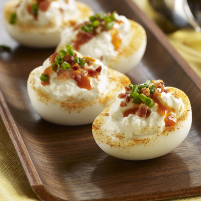 Blue Cheese Deviled Eggs