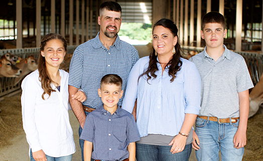 Giving Back to the Community Is a Family Affair on This Dairy